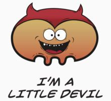 I'M A LITTLE DEVIL Kids Tee