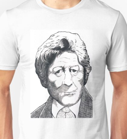 Jon Pertwee - Dr Who Unisex T-Shirt