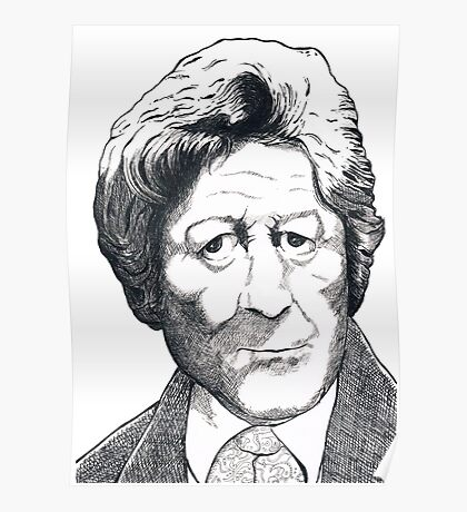 Jon Pertwee - Dr Who Poster
