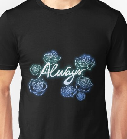 Neverforget-roses Unisex T-Shirt