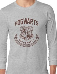 Hogwarts University Long Sleeve T-Shirt