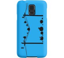 Angry Birds on a wire Samsung Galaxy Case/Skin