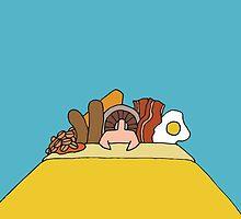 Breakfast In Bed by Jake McCarthy Mansbridge