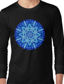 Ice Matrix Mandala Long Sleeve T-Shirt