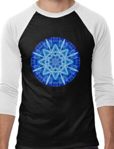 Ice Matrix Mandala Men's Baseball ¾ T-Shirt