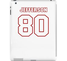 NFL Player D.C. Jefferson eighty 80 iPad Case/Skin