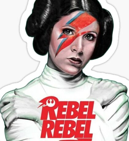 Carrie Fisher RIP Sticker