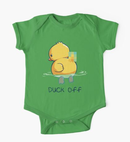 Duck off One Piece - Short Sleeve