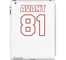 NFL Player Jason Avant eightyone 81 iPad Case/Skin
