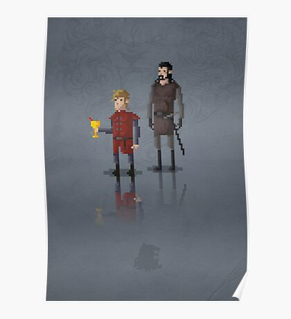 8-Bit TV Tyrion Poster