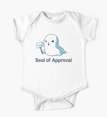 Seal of Approval One Piece - Short Sleeve