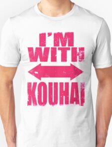 I'm With Kouhai (PINK) T-Shirt