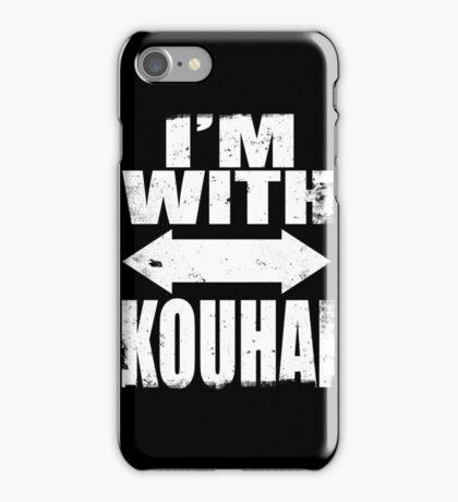 I'm With Kouhai (WHITE) iPhone Case/Skin