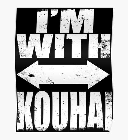 I'm With Kouhai (WHITE) Poster
