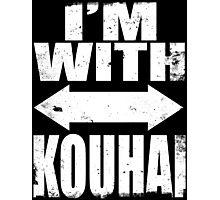 I'm With Kouhai (WHITE) Photographic Print