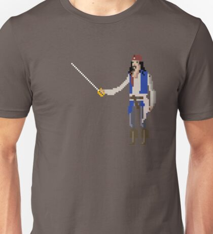 8-Bit TV John Sparrow Unisex T-Shirt