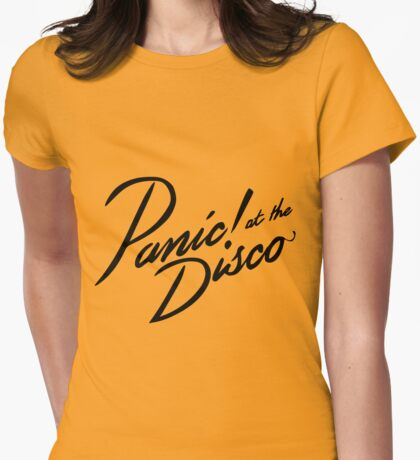 panic at the disco Womens Fitted T-Shirt
