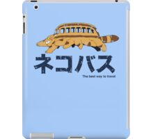 Nekobus retro iPad Case/Skin