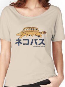Nekobus retro Women's Relaxed Fit T-Shirt