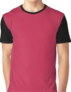 Bright Maroon Graphic T-Shirt