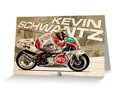 Kevin Schwantz - 500cc 1993 Greeting Card