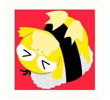 OISHI PSYDUCK SUSHI Art Print