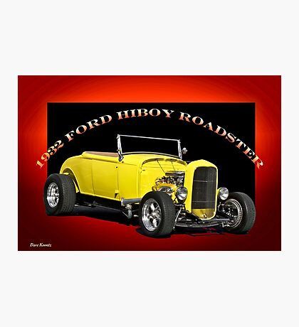 1932 Ford HiBoy Roadster Photographic Print