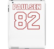NFL Player Logan Paulsen eightytwo 82 iPad Case/Skin