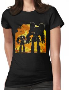 robot jox Womens Fitted T-Shirt