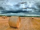 A Stormy September Evening HDR - The 2 Lancasters  by Colin  Williams Photography