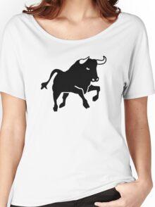 Bull Women's Relaxed Fit T-Shirt