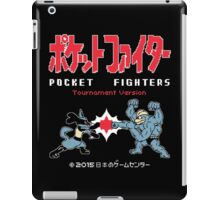 Pocket Fighters : Pokemon + Tekken = Pokken Tournament iPad Case/Skin