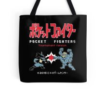 Pocket Fighters : Pokemon + Tekken = Pokken Tournament Tote Bag