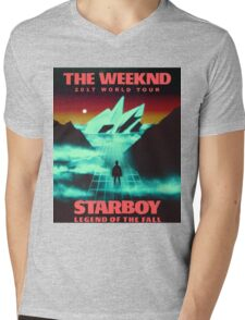 The Weeknd Mens V-Neck T-Shirt
