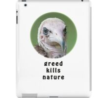 Hooded Vulture for Nature iPad Case/Skin