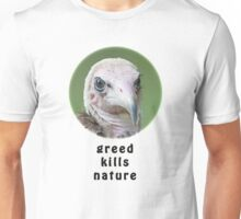 Hooded Vulture for Nature Unisex T-Shirt