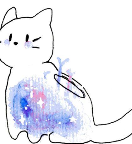 Space Terrarium Cats Sticker