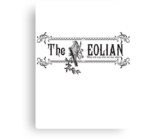 The Eolian Banner Canvas Print