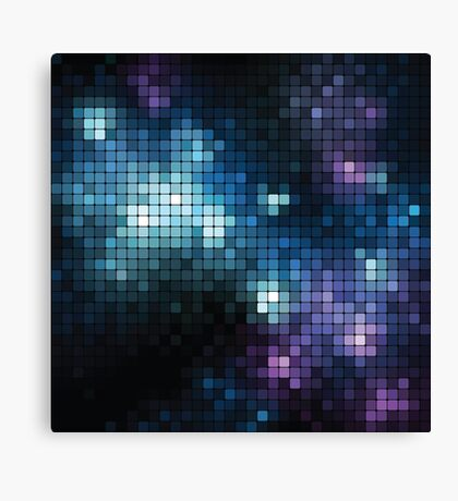 dotted galaxy Canvas Print