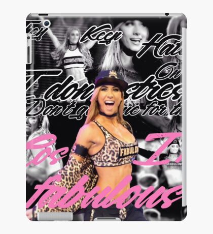 Carmella WWE iPad Case/Skin