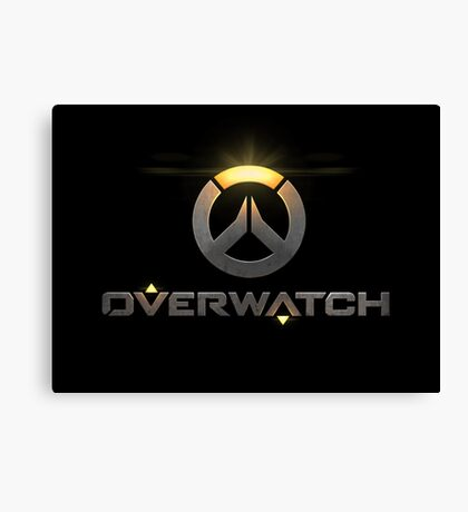 OVERWATCH Canvas Print