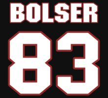 NFL Player Ted Bolser eightythree 83 by imsport