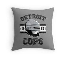 Cops team Throw Pillow