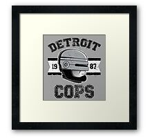 Cops team Framed Print
