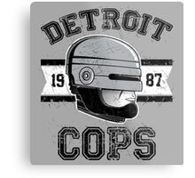 Cops team Metal Print