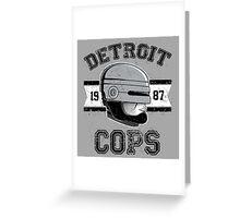 Cops team Greeting Card