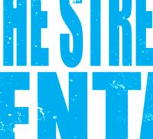 Kawaii in the Streets... (BLUE) Sticker