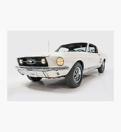 1964 Classic Car White Photographic Print