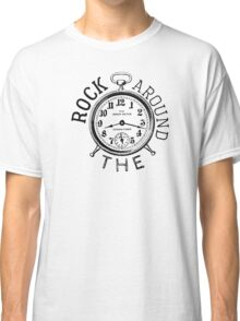 rock n roll elvis presley cool retro illustration hippie t shirts Classic T-Shirt