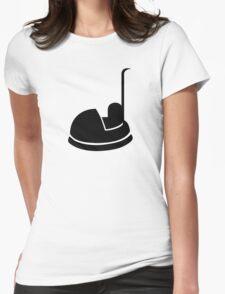 Bumper car Womens Fitted T-Shirt